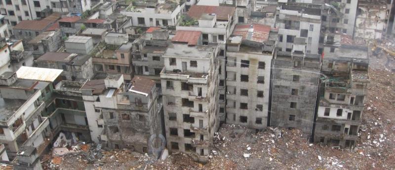 Nalsar students support NUJS students opposing illegal slum demolition (stock photo)