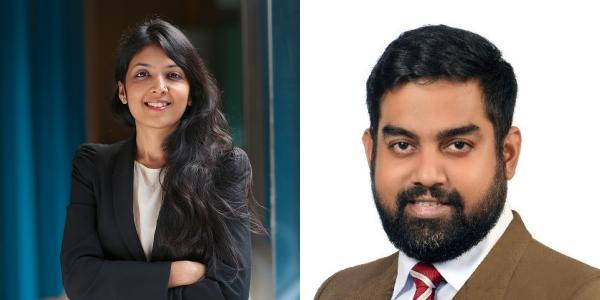New banking partners Garg and Biswas