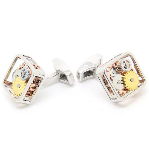 </p><p>The Gear Machinery Cufflinks allows you to wear engineering at it's best. It is an ideal gift for a busy lawyer.