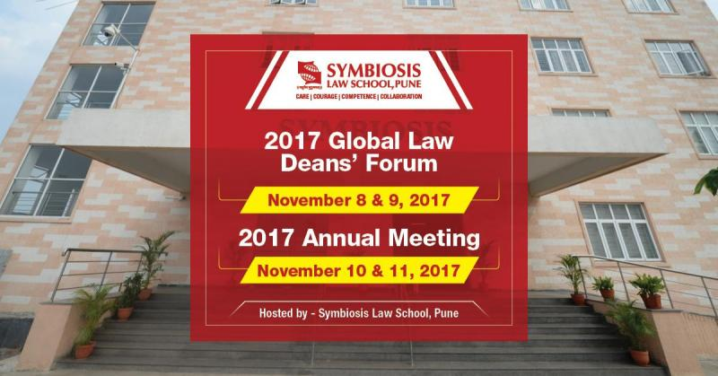 SLS Pune presents the IALS Global Law Deans Forum from 8 November