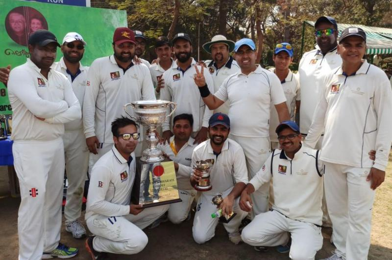 Winning SAM team at the Siri Fort complex