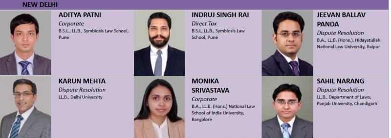 New associate partners in Delhi