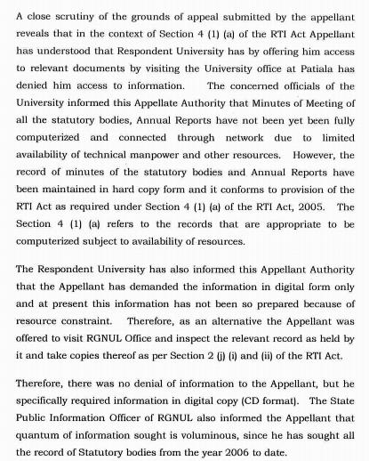 It is apparently too complicated for a national law school to digitise its annual reports