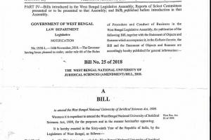 NUJS Kolkata - Legally India