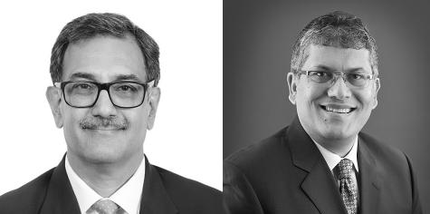 Kapur (left) continues leading JSA with Vivek Chandy