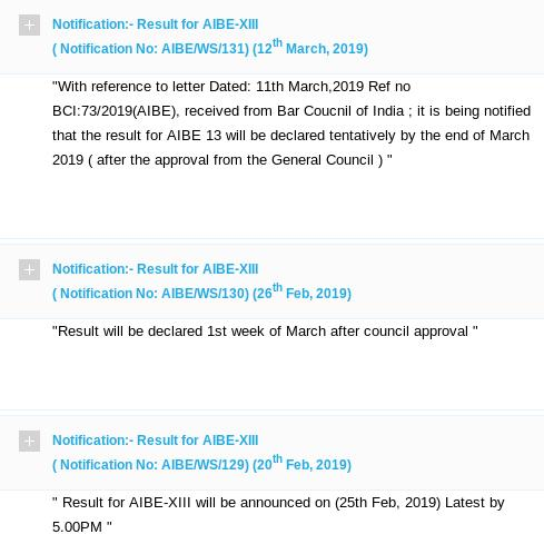 Bci Postpones All India Bar Exam Results For 3rd Time Now Tentatively By March End Legally India News For Lawyers