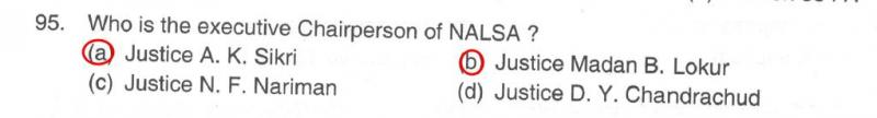 Who's Nalsa chairperson? Neither of these two, actually
