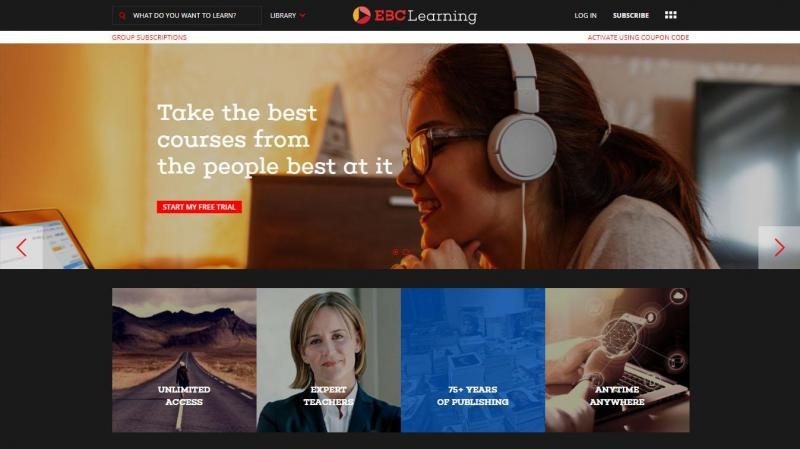 EBC Learning: Take the best courses from the people best at it