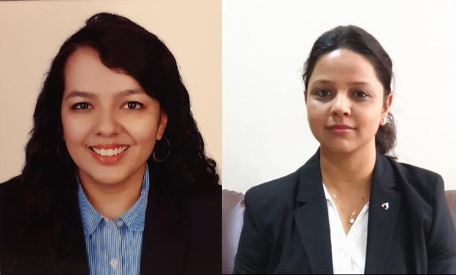 Radhika Mathur (l) and Parul Sharma join ANM as associate partners