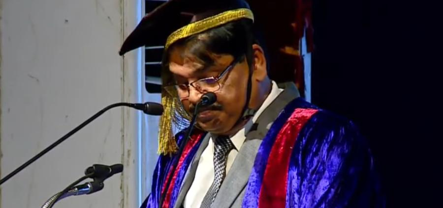 BCI's MK Mishra delivers show-stopper of a speech at NLSIU (via YouTube)