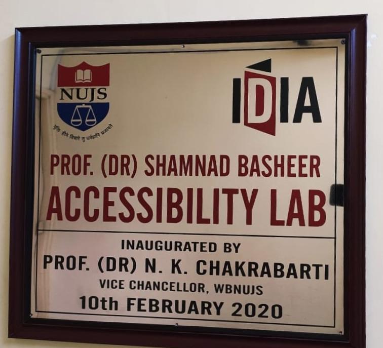 In memoriam: Shamnad Basheer Accessibility Lab at NUJS