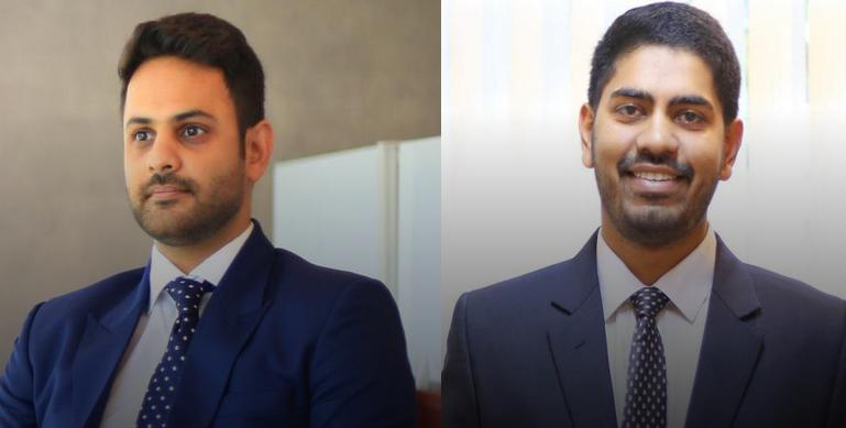 Harman Walia (left) and Mayukh Datta get nod to Indus partnership