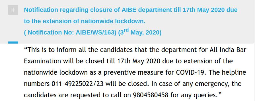 Registrations start on 16 May, though office is shut right now