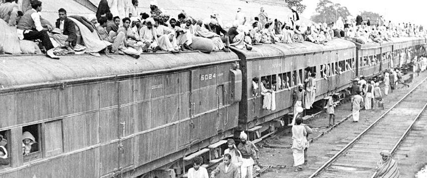 GNLU students organise transport for 6,000 migrant workers (photo of special refugee train 1954, Government of India)