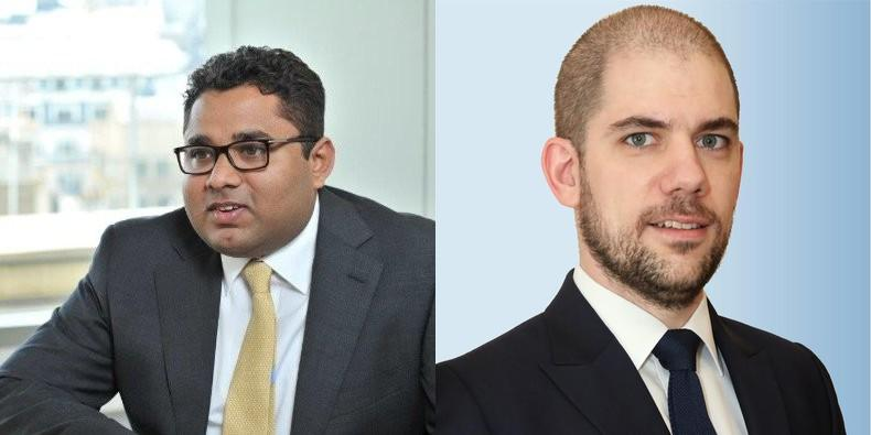 Anuj Shah (left), Jean Muller to move to Singapore for Khaitan (Mumbai)